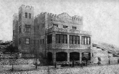 The castle circa 1908