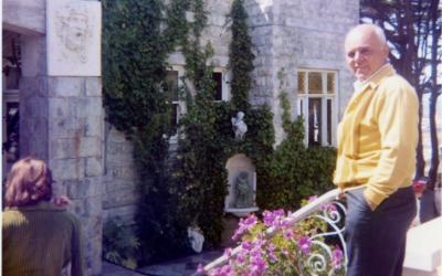 Mr. Mazza at the Castle, 1973